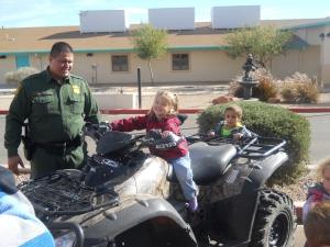 CAS Border Patrol ATV 5