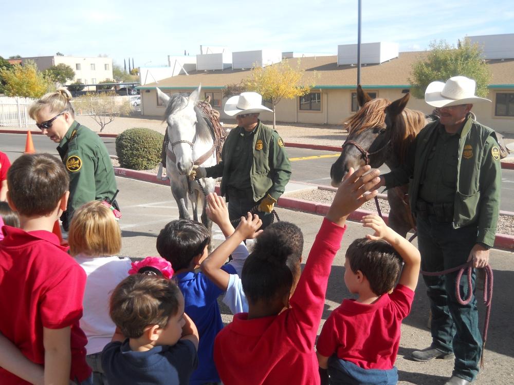 CAS Border Patrol Horses Cover