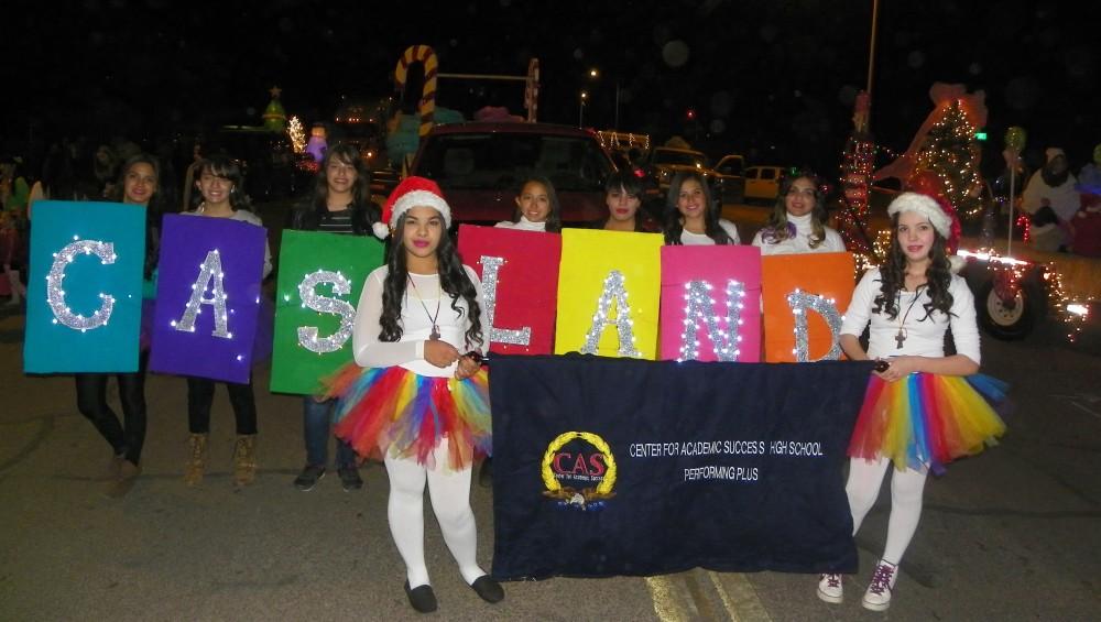 CAS, Douglas, Charter school, Christmas parade, Douglas AZ