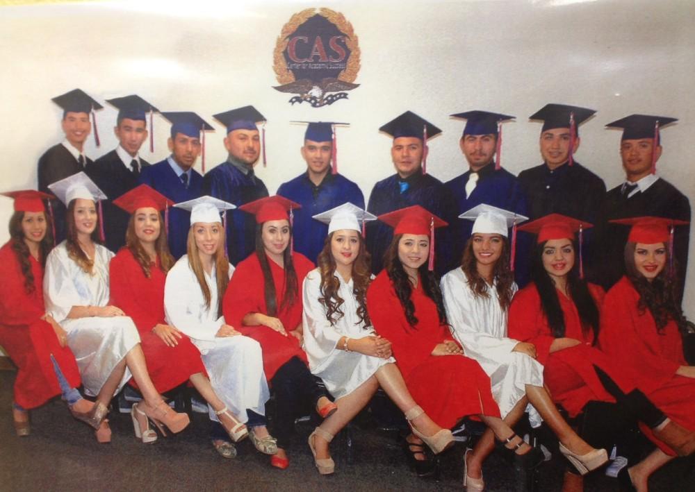 2014 Graduates from CAS Douglas