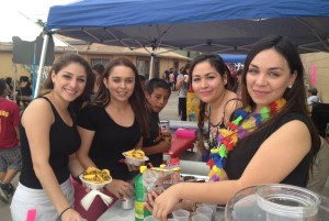 Douglas students enjoy the spring fling.