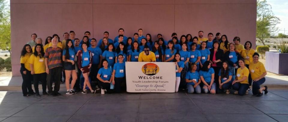 Group photo CAS Douglas school Center for Academic Success