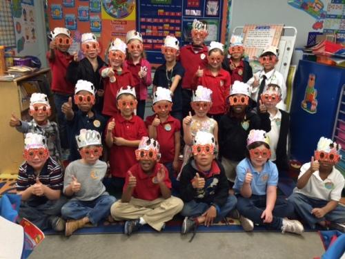 school CAS students 100 days Sierra Vista