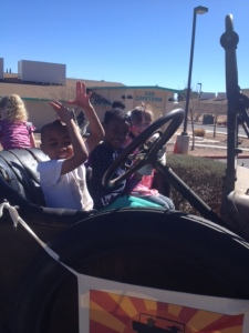 CAS Students clearly enjoy the awesome ride!