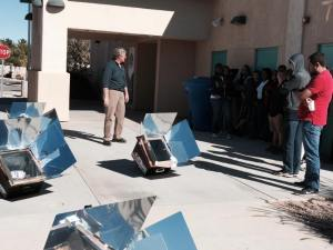 Mr. Oh!, Solar Oven, STEM Green Technology, CAS