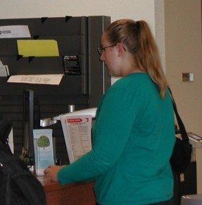 Brandy S. enrolls at Cochise College, experiencing what it's like to be a college student for the first time.