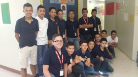 Student Council Candidates, Boys