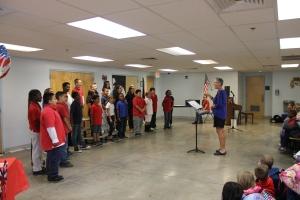 5th Grade singing